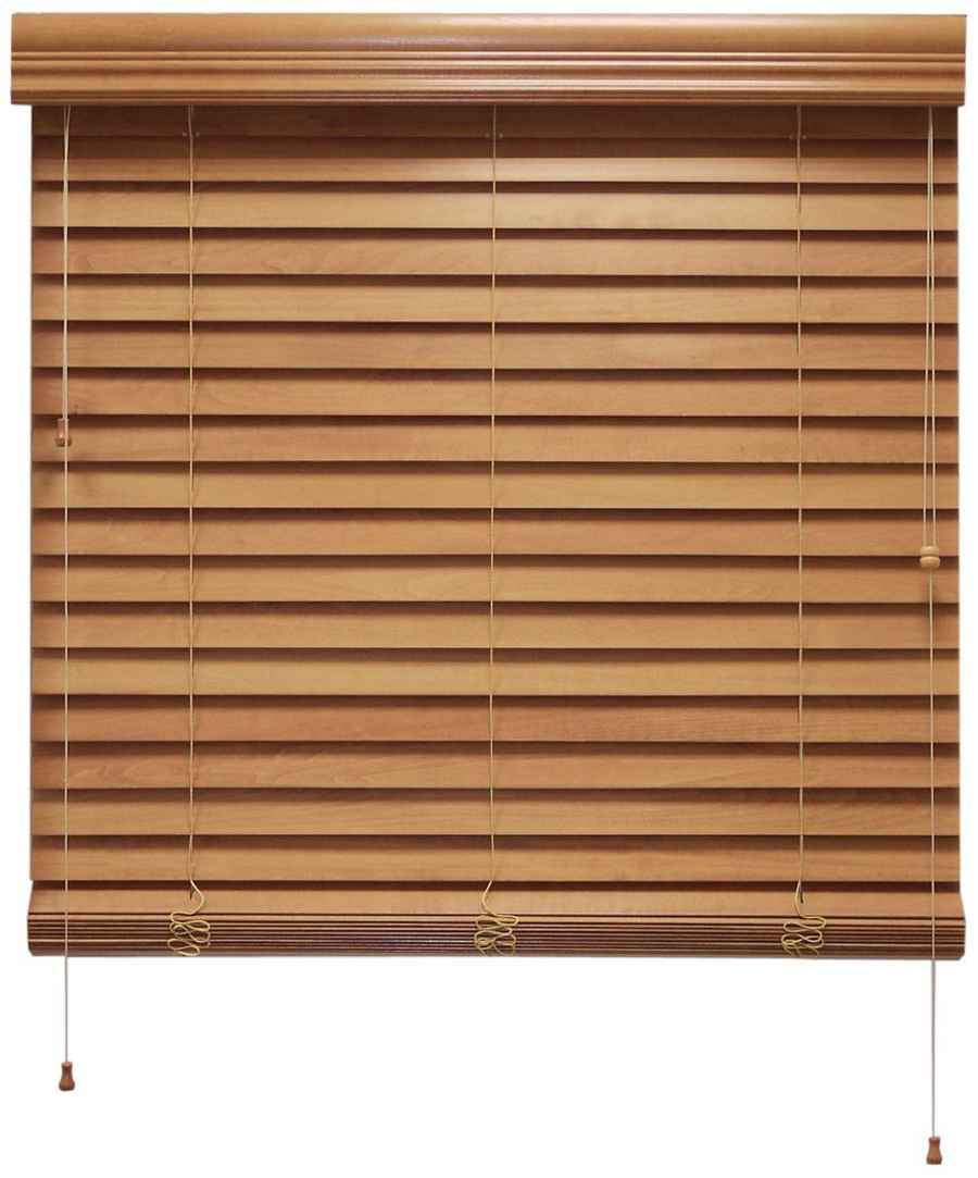 Chicology Real Bass Wood Home Blind
