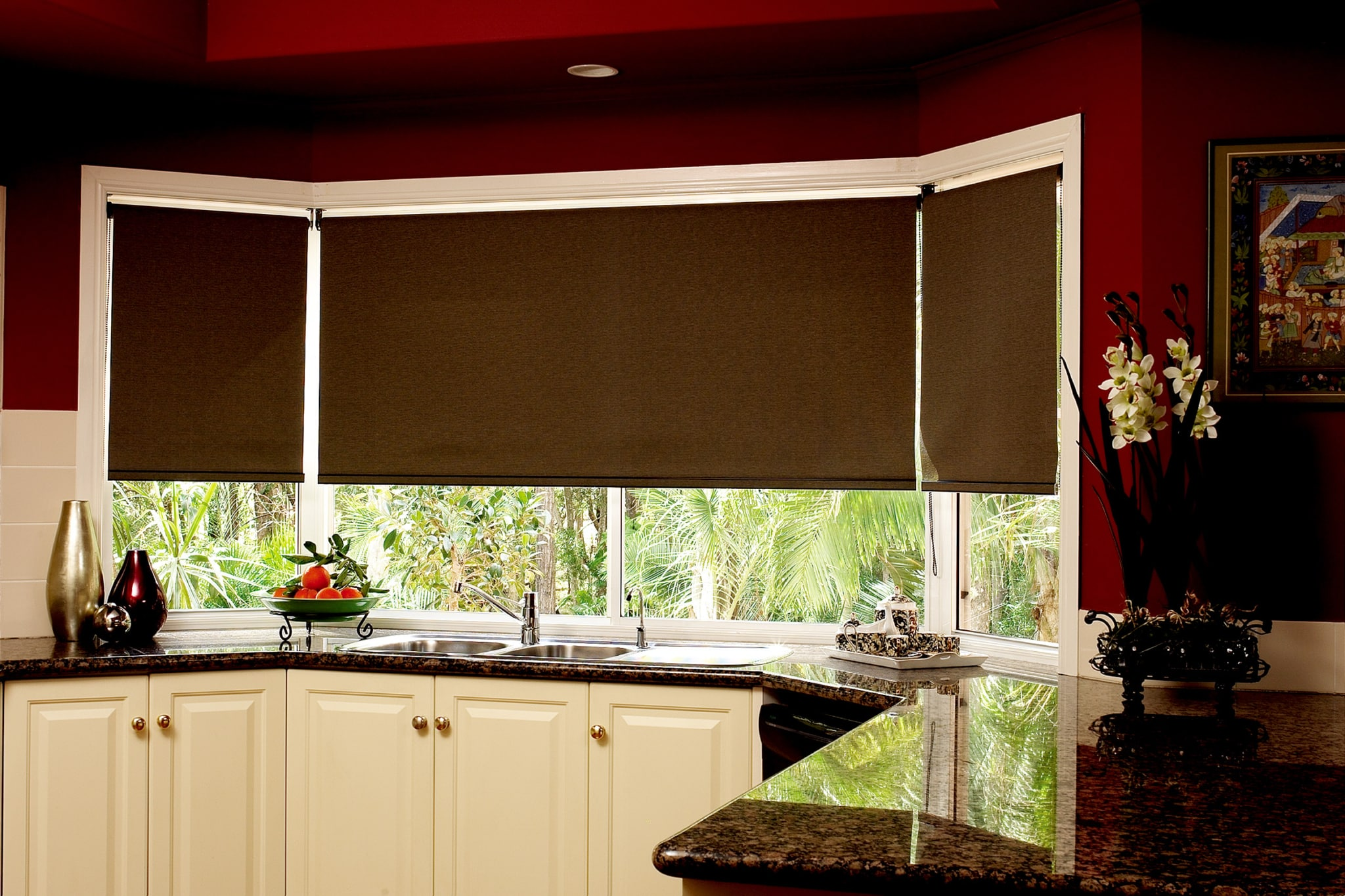 Roller blinds estil furnishing pte ltd Curtains and blinds