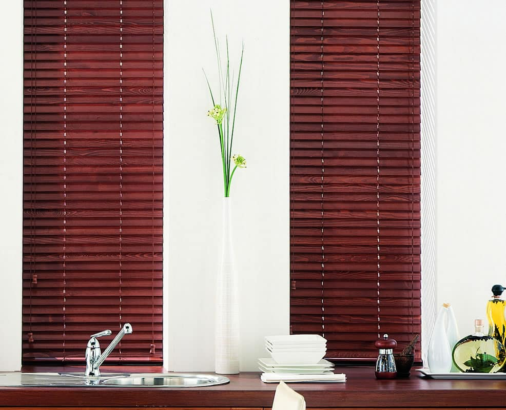 Venetian Blinds In Pvc Aluminum Wood Estil Furnishing